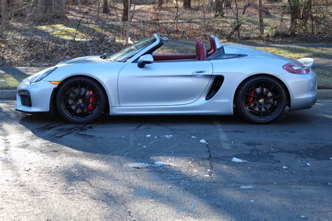 2016 porsche boxster spyder stock p152426 for sale near