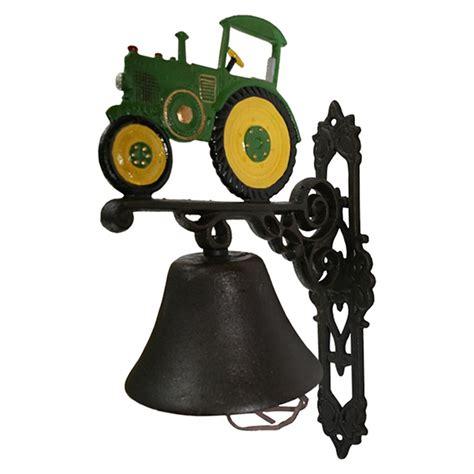Dekofiguren Für Den Garten by T 252 Rglocke Gruener Schlepper Trecker Eisen Glocke Antik