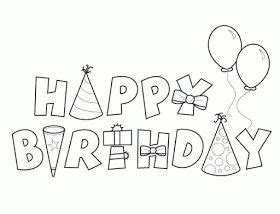 imagenes que digan feliz cumpleaños para colorear happy birthday coloring pages coloring for abbie