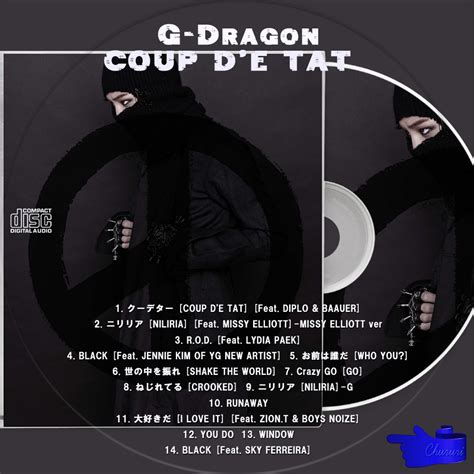 カッチカジャ☆韓国Drama・OST♪Label☆ G-Dragon COUP D'E TAT☆レーベル G Dragon 2013 Crooked
