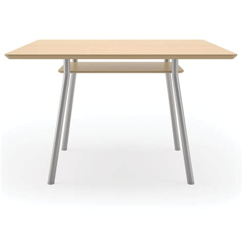 Lesro Mystic Square Conference Table W Shelf 42 Quot Square Square Conference Table