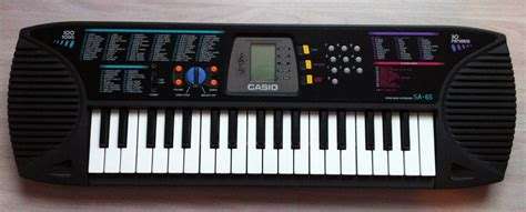 Type Dan Keyboard Casio file casio sa 65 jpg wikimedia commons