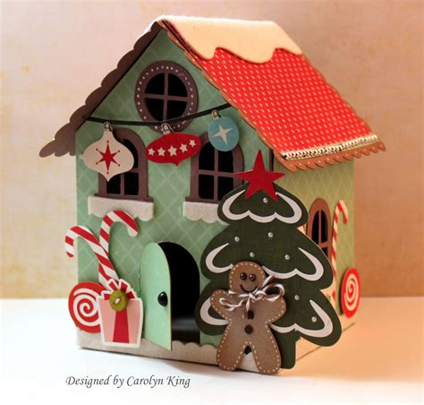How To Make A Gingerbread Out Of Paper - my gingerbread house