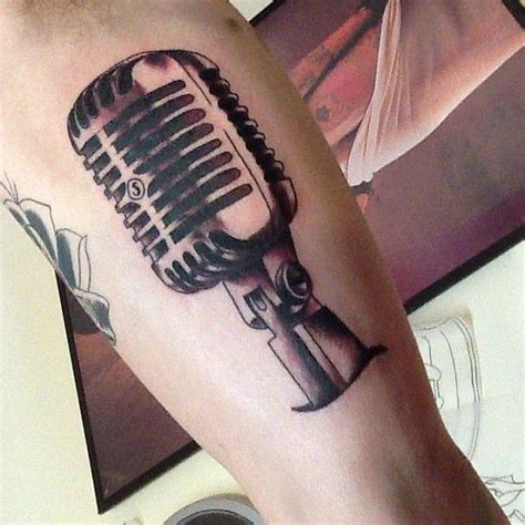 microphone tattoo meaning 1000 ideas about microphone tattoo on pinterest music
