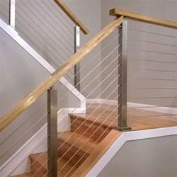 How To Install Railing On Stairs by How To Install A Cable Railing System Stairsupplies
