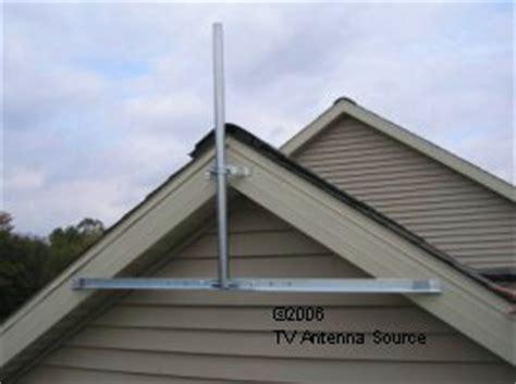 side  house wall eave mount   antenna arcom