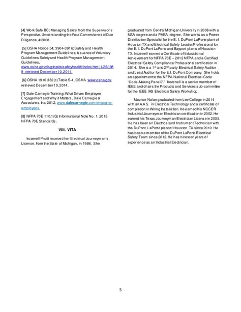 Mba Syllabus 2008 Regulation by Supervising With Due Diligence For Electrical Safety