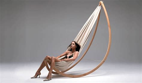 modern swing modern and stylish woorock hammock swing by georg bechter