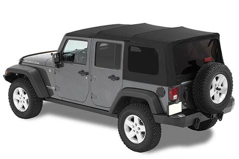 Jeep Wrangler Soft Top Free Shipping On Mopar 82213652 Twill Premium Jk Unlimited