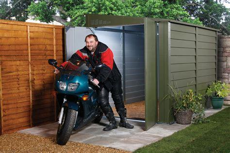 Metal Motorcycle Garage trimetal motorcycle security metal garage mcg950