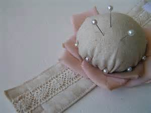 Wrist Pin Cushion Pattern Wrist Flower Pin Cushion Tute Pin Cushions