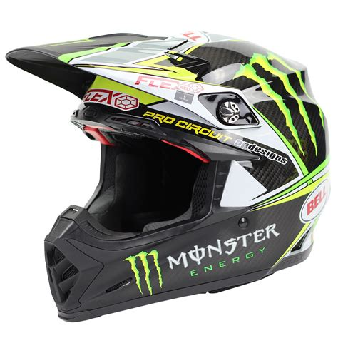 green motocross helmets bell new 2017 mx moto 9 carbon flex black green motocross