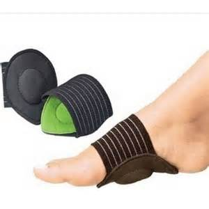 Cushioned foot arch supports general health and beauty