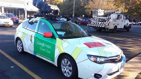 maps car maps view car spotted in new york usa