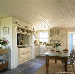 Irish Kitchen Designs Irish Thatched Cottage Natural Calico