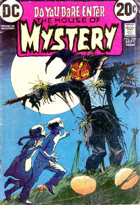 house of mystery pencil ink house of mystery 206 bernie wrightson art
