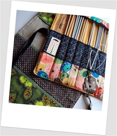 how to make a knitting needle roll madebyloulabelle how to make a knitting needle roll