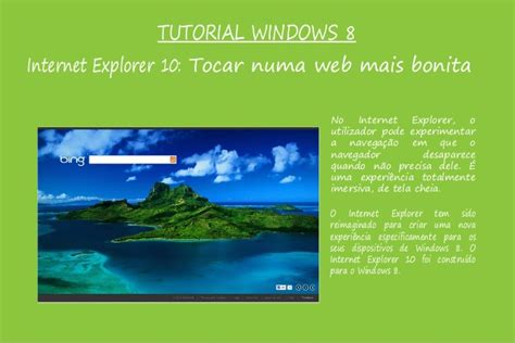 tutorial internet explorer 10 windows 8 tutorial windows 8 2parte