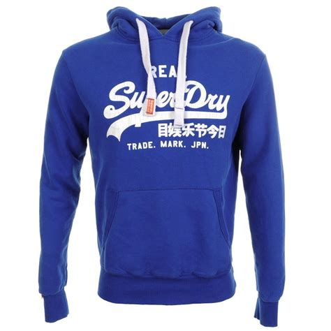 Sweater Hoodie Jumper Band Blur superdry vintage entry hoodie jumper dodger in blue for