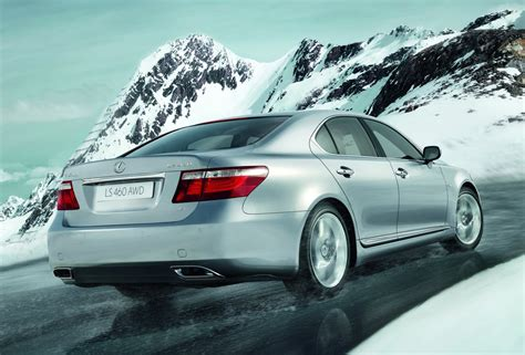 lexus awd system lexus to unveil ls460 all wheel drive in moscow carscoops