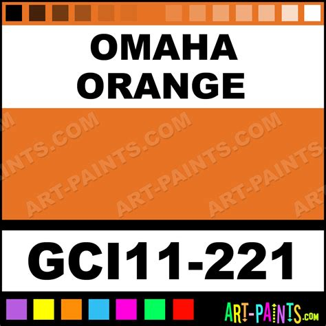omaha orange industrial enamel paints gci11 221 omaha orange paint omaha orange color gci