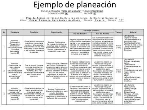 planeaciones y actividades de primaria ejemplo de planeaci 243 n