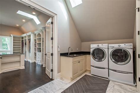 Bedroom Laundry Chicagoland Illinois Custom Home Builders Custom Home