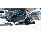 Only In Canada Smart Car Transformed Into Snow