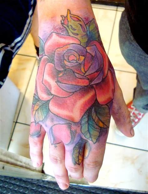 tattoo for right hand 50 amazing rose hand tattoos