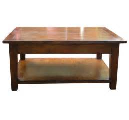 southwold solid cherry wood coffee table with pot board
