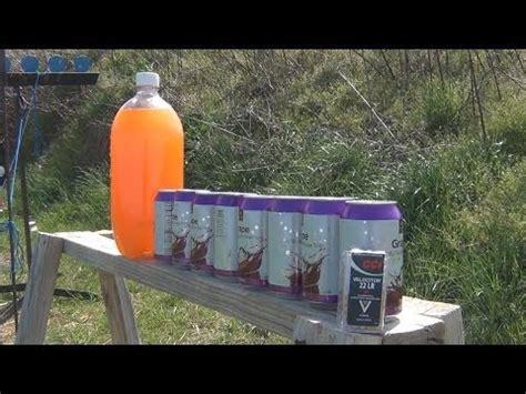cci velocitor 22 lr vs soda cans 22 ammunition