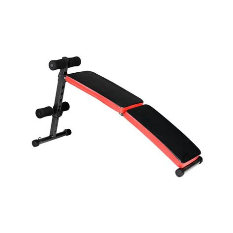 resistance band bench incline sit up gym bench press adjustable home fitness