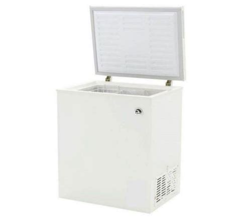 small cabinet freezer igloo compact aluminum cabinet chest freezer 5