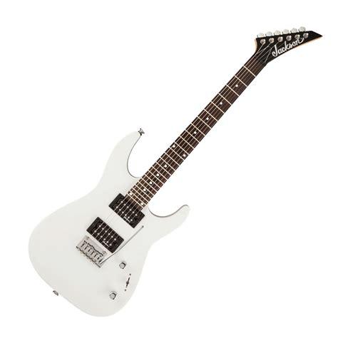 Gitar Jakson Dinky jackson js12 dinky electric guitar gloss white at gear4music
