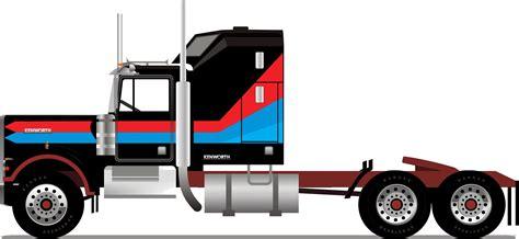kenworth aerodyne truck blueprints gt trucks gt kenworth gt kenworth w900 aerodyne 1977