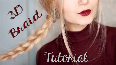 braids hairstyles tumblr for school easy 3d braid hair tutorial for school tumblr inspired
