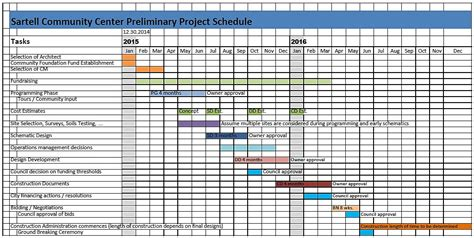 architectural schedule template project work schedule template appointment scheduling