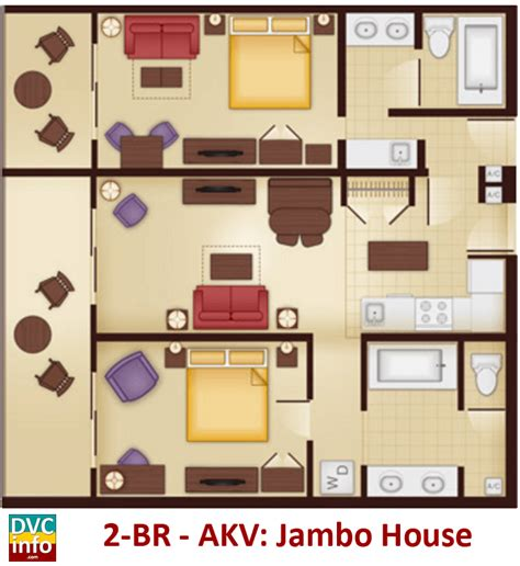 disney animal kingdom villas floor plan disney s animal kingdom villas dvcinfo