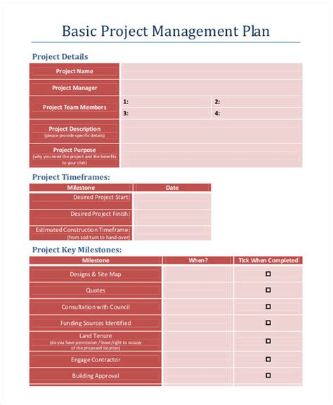 wonderful action plan template sample to help you developing a plan