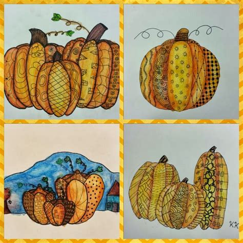zentangle pumpkin printable 1000 images about zentangle pumpkin turkeys on pinterest