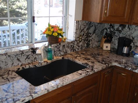 backsplash for kitchen with granite full height granite backsplash persian pearl lumi white