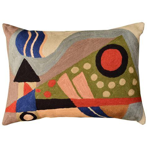 modern sofa pillows solid yellow white grey cushion
