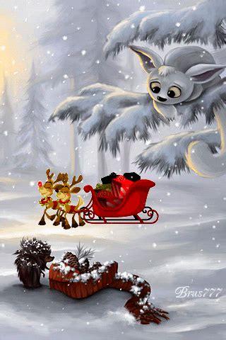 cute reindeer  gifts snowing gif winter gif christmas gif send beautiful gif message