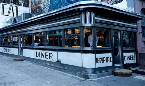 dinner nyc empire diner a new york city experience