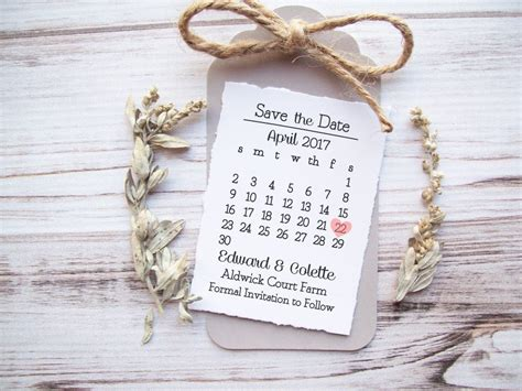 Save The Date St Calendar Wedding Custom St Save The Date Rubber St Template