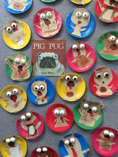 pug craft projects 14 best images about pig the fibber on crafts activities and pug