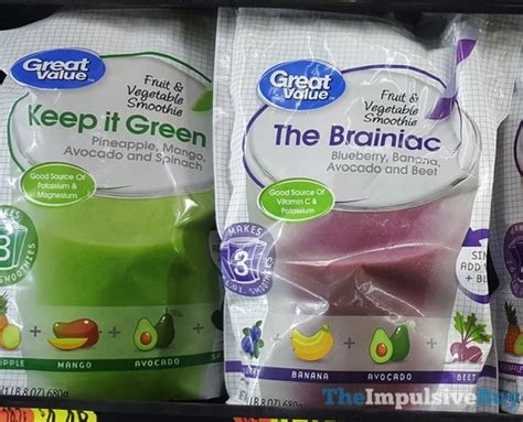 Smoothies To Help Detox From Chemo And Brain Surgery by Spotted On Shelves Walmart Brands Edition 10 19 2017
