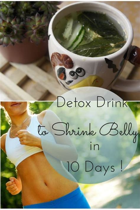 Ten Days To Detox by Diy Detox Water To Shrink Your Belly In 10 Days Flats