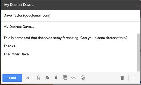 Format Email In Gmail | add text colors and formats to gmail email messages ask