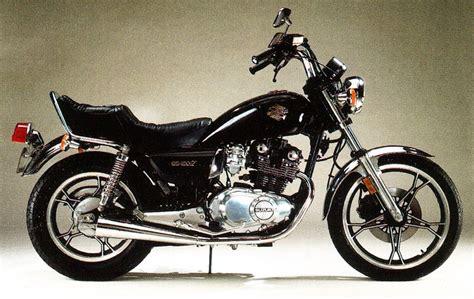 Suzuki Gs450l suzuki gs450l model history